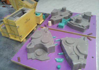 Modell Getriebegehäuse