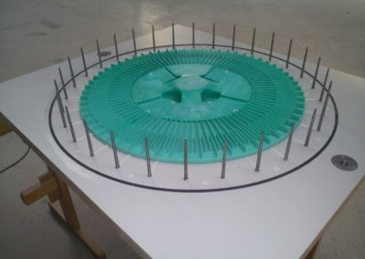 Modellplatte Deckel